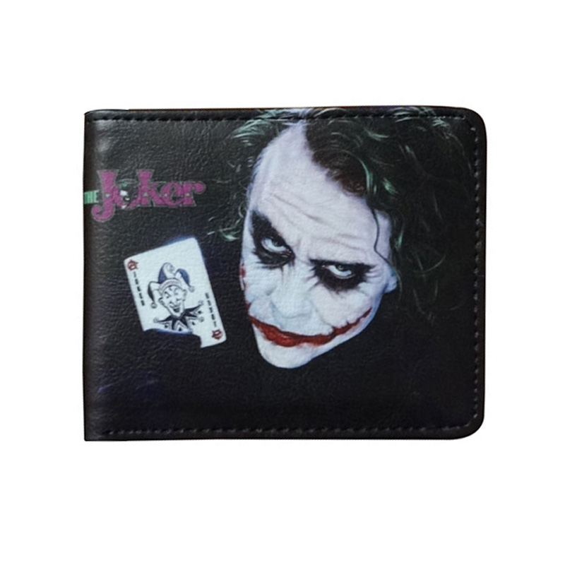 New Designers Joker Wallets Anime Cartoon Joke Printed Purse Card Holder Money Bags Gift for Boy Girl Dollar Price Short Wallet idpna vigi dpnl rcbo 6a 32a 25a 20a 16a 10a 18mm 230v 30ma residual current circuit breaker leakage protection mcb a9d91620