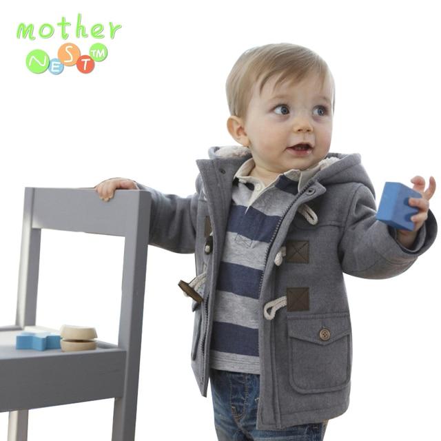 fdab0b4e6d8c Venta al por menor 2017 de los bebés Ropa de abrigo niños chaqueta de  Invierno Primavera Niños prendas de Vestir Exteriores gruesa niño abrigo  niño del ...