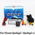 Проводной Или Беспроводной Камера Заднего Вида Для Nissan Qashqai/Qashqai + 2/RCA AUX HD CCD Ночного Видения/Широкоугольный Объектив Камера Заднего вида