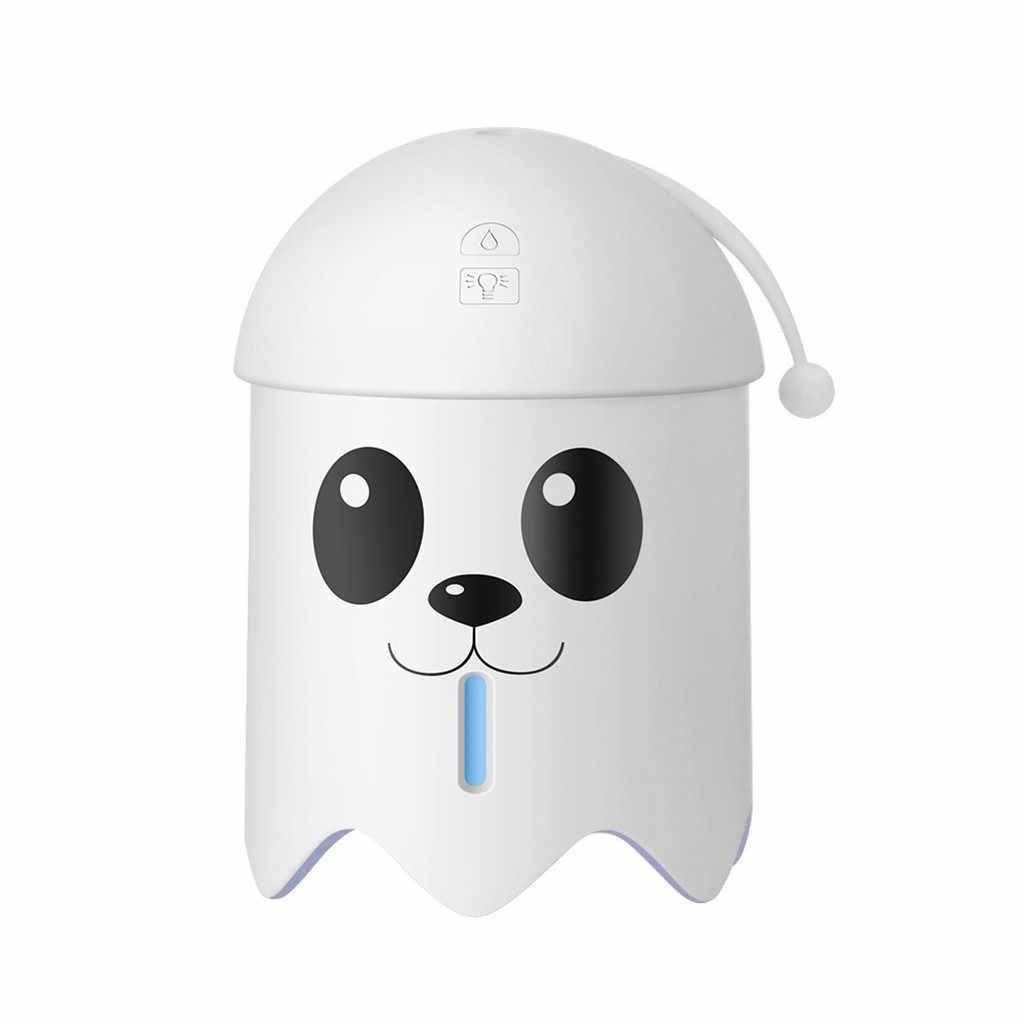 3 в 1 увлажнитель милая собака Светодиодный увлажнитель воздуха вентилятор диффузор очиститель распылитель масло ароматерапия Холодный Туман чайник для офиса дома