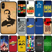 5f46a480097 The Big Bang Theory Black Silicone phone Cases for Apple iPhone 6 6S 7 8  Plus