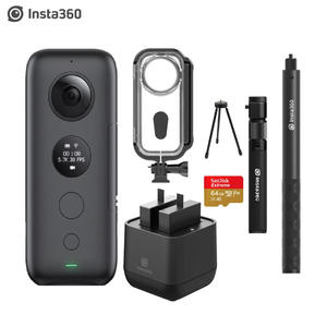 Insta360 Action-Camera 18mp-Photo Venture Battery-Charger Video No with Case