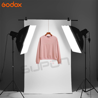 Godox 2x e250 studio Фото Интимные аксессуары Flash Освещение комплект с Godox при 16 триггера + 2x Софтбоксы 50x70 см + 2x Свет Стенд