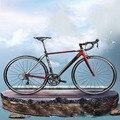 Дорожный велосипед 700 C  18 скоростей  легкая  алюминиевая  меняющая скорость  гоночный велосипед  жесткий двойной V тормоз  супер комфортная п...