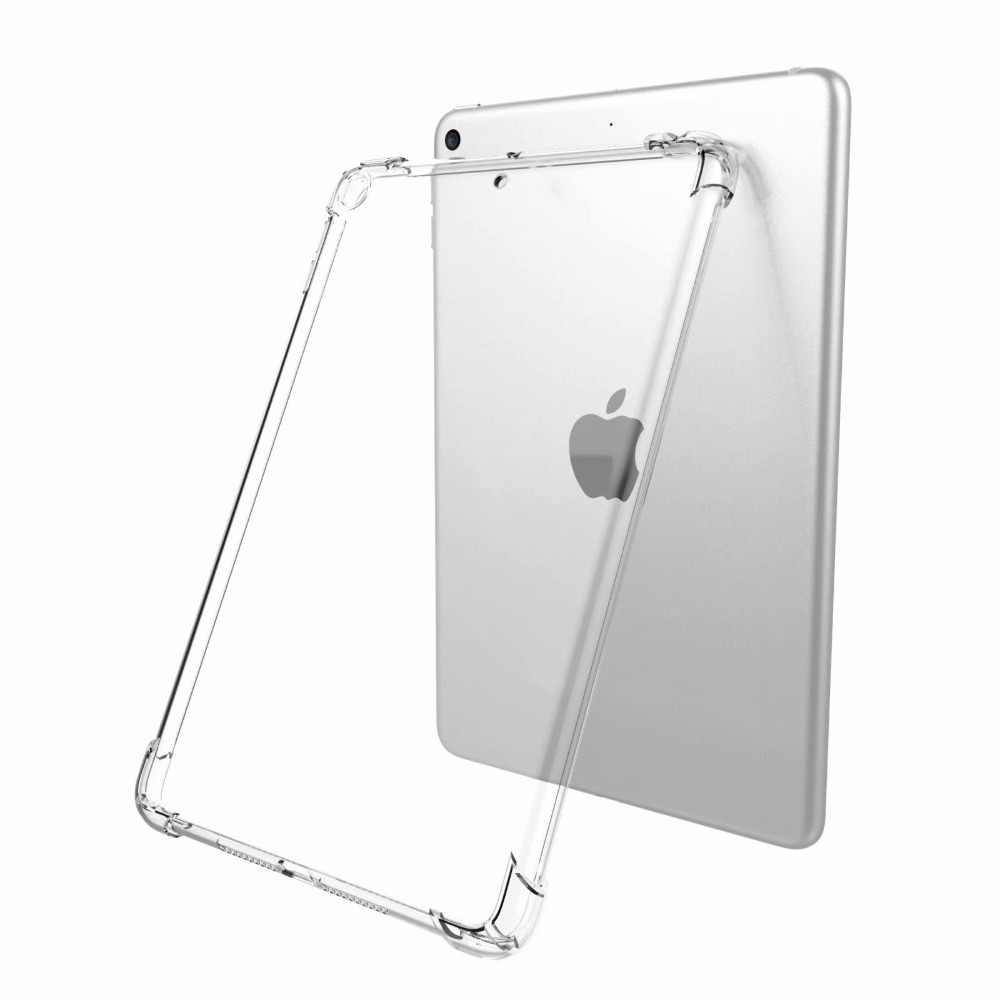 Jasne odporność na upadek krzemu pokrywa dla Apple iPad 2/3/4 9.7 2017 2018 Air 1 2 5 6 Pro 9.7 11 10.5 12.9 mini 2 3 4 5 10.2 przypadku