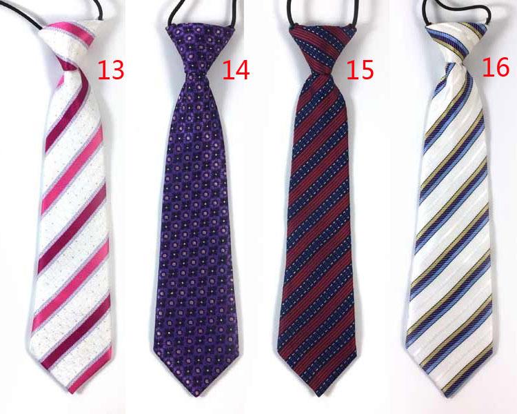 e9384ad06 Unisex children neck tie Ties Boys Girls School Elastic Rubber Band ...