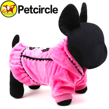 2015 Promotion Graceful Pet Dog Clothes Winter Size Xxs-l Small And Large Dog Clothing Plushdog Coats For Chihuahua Freeshipping