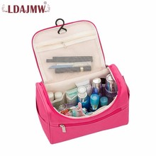 LDAJMW Cosmetic Bags Multi-function waterproof Makeup Bag Portable Storage Travel Toiletry Bags Cosmetic Storage Casual Handbag superior quality multi color pattern satin cute color multi function cosmetic bag mini bags storage bags gift wholesale