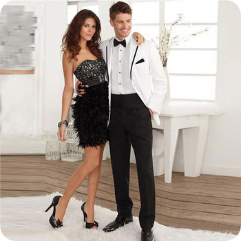 White Black Men Suits Groom Wedding Suits Bridegroom Formal Tuxedos Prom Blazers Costume Homme Slim Fit Terno Masculino 2Pieces pink boys suits groom wedding tuxedos page boy formal prom 2 piece kids suits