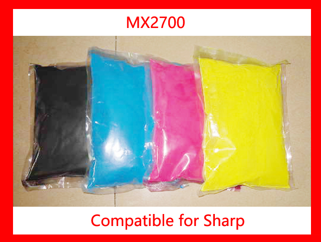 High quality color toner powder compatible for Sharp MX2700/2700 Free shipping