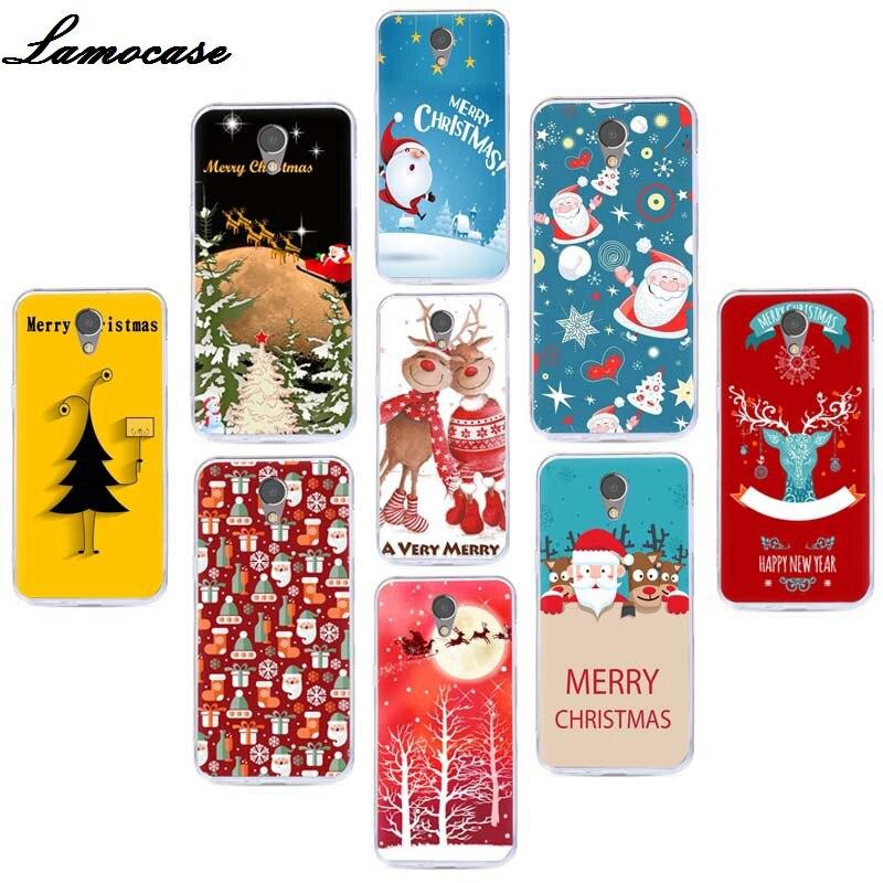 Case For Lenovo VIBE P2 P 2 Capa Christmas Fundas For Lenovo P2C72 Cover Soft TPU Silicone Coque For Lenovo P2 5.5'' Phone Cases