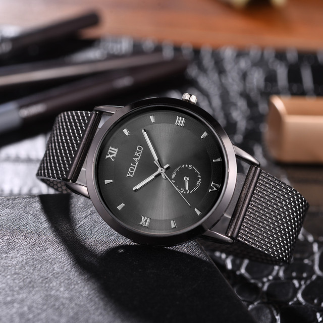 2018 New Fashion Stainless Steel Casual Quartz Watch Women Watches Ladies Famous