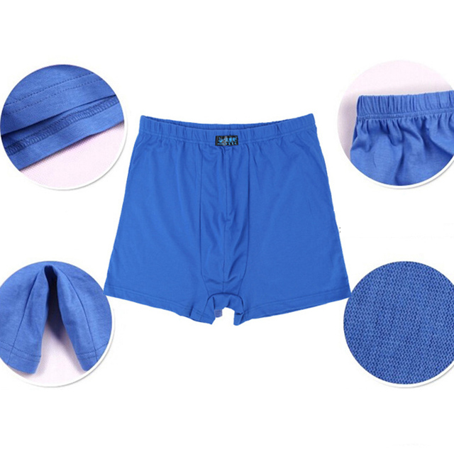 5PCS Soft Men Boxer Underwear Boxer Shorts Seamless Underpants Fat Panties Big Size L-5XL 6XL 7XL 8XL Trunks