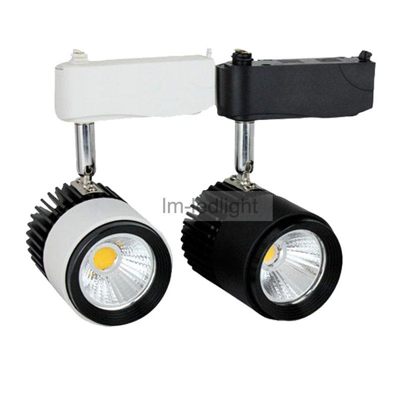 LED Track Lighting 10W 85 265V Shop Rail Track Light Warm