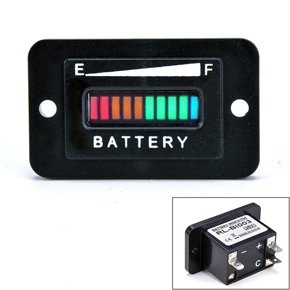 Car Battery Gauge : Online buy wholesale v battery meter from china