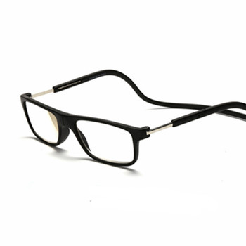 Mix Fashion New Magnetic Reading Glasses Click Hang Never Loose again +1.0 1.5 2.0 2.5 3.0 3.5 4.0 neck wear glasses 057