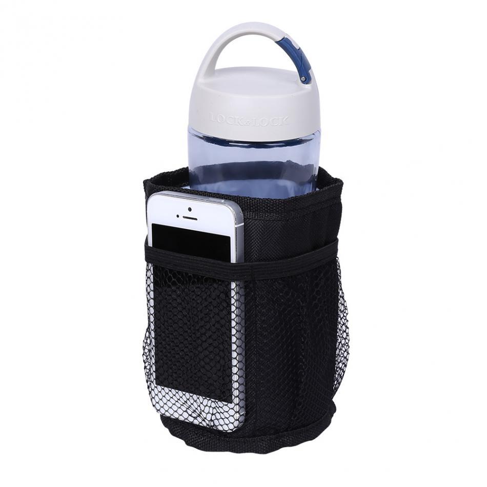 1 unid botella de biberón negro caso bebida leche de agua biberón - Alimentación - foto 5