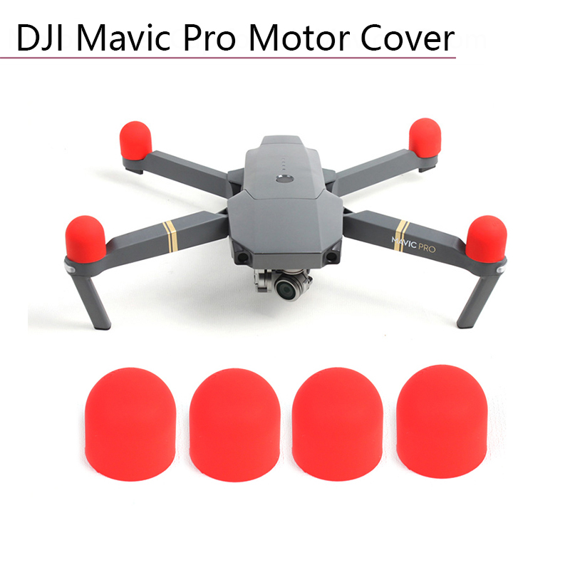4 Pcs Motor Cover Soft Silicone Case Transport Protective Guard for DJI Mavic Pro Platinum Engine Protector Dust proof Motor Cap in Drone Accessories Kits from Consumer Electronics