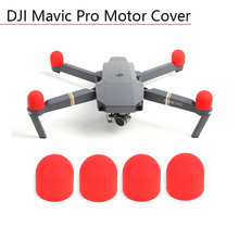 4 Pcs Motor Cover Soft Silicone Case Transport Protective Guard for DJI Mavic Pro Platinum Engine Protector Dust-proof Cap