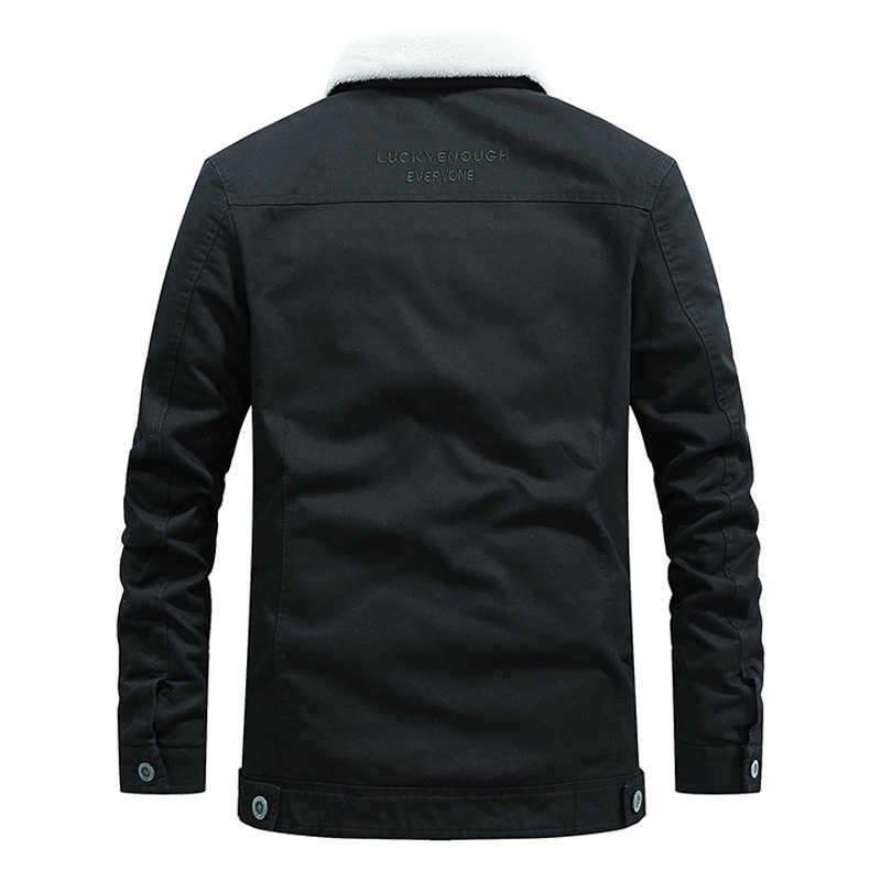 高品質 2018 冬ジャケット男性はコート暖かいフリースジャケットブランド AFS ジープカジュアル Jaqueta masculina プラスサイズ M-4XL