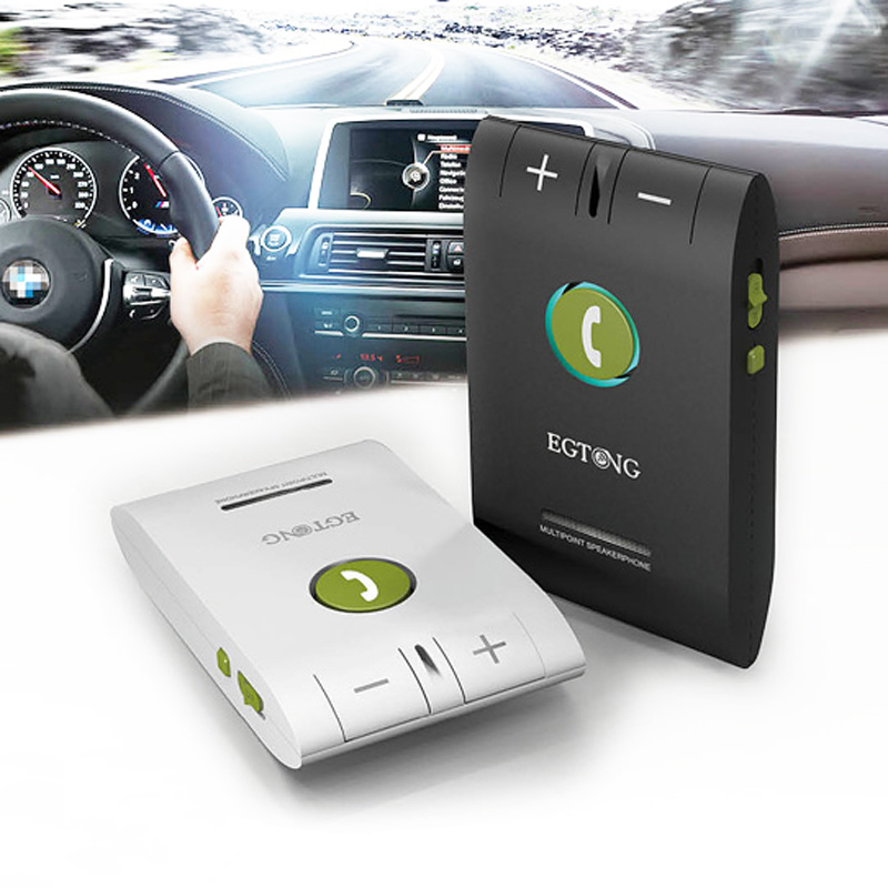 New Universal Wireless Bluetooth Car Kit Noise Canceling For Iphone 6s5s Xiaomi Samsung All Blutooth Phones Multipoint Handsfree