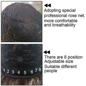 Image 5 - 30 インチ合成かつらブロンド赤黒オンブルアフロかつらのためのカーリーブロンド茶色髪の女性ウィッグ販売