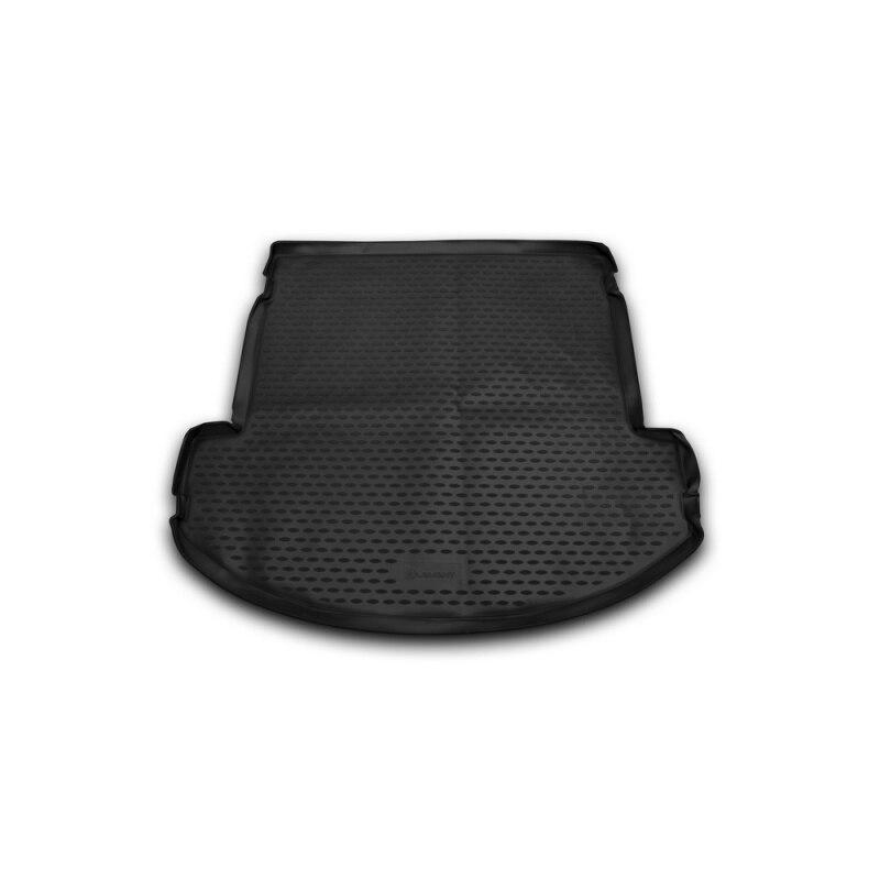 Mat rear trunk lid cover trim For HYUNDAI Grand Santa Fe, 2013-> внед., lengths. (polyurethane) interior dashboard central console panel cover trim for audi q3 2013 2016 3pcs