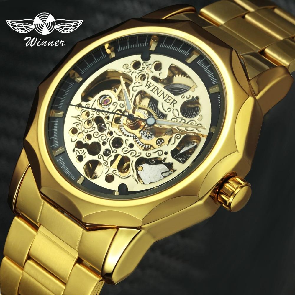 Aliexpress Com Buy Golden Watches For Men 2018 Winner Top Brand