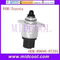 Nova Auto IAC Válvula De Controle De Ar Ocioso Velocidade uso OE NO. 89690-87Z01 8969087Z01 para Toyota