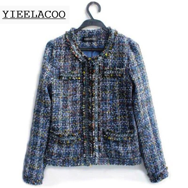 Popular Ladies Tweed Coat-Buy Cheap Ladies Tweed Coat lots from ...
