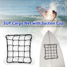 2 PCS Universal Bungee Cargo Net SUP Deck Storage Mesh Paddle Board Motorbike Motorcycle with Hooks