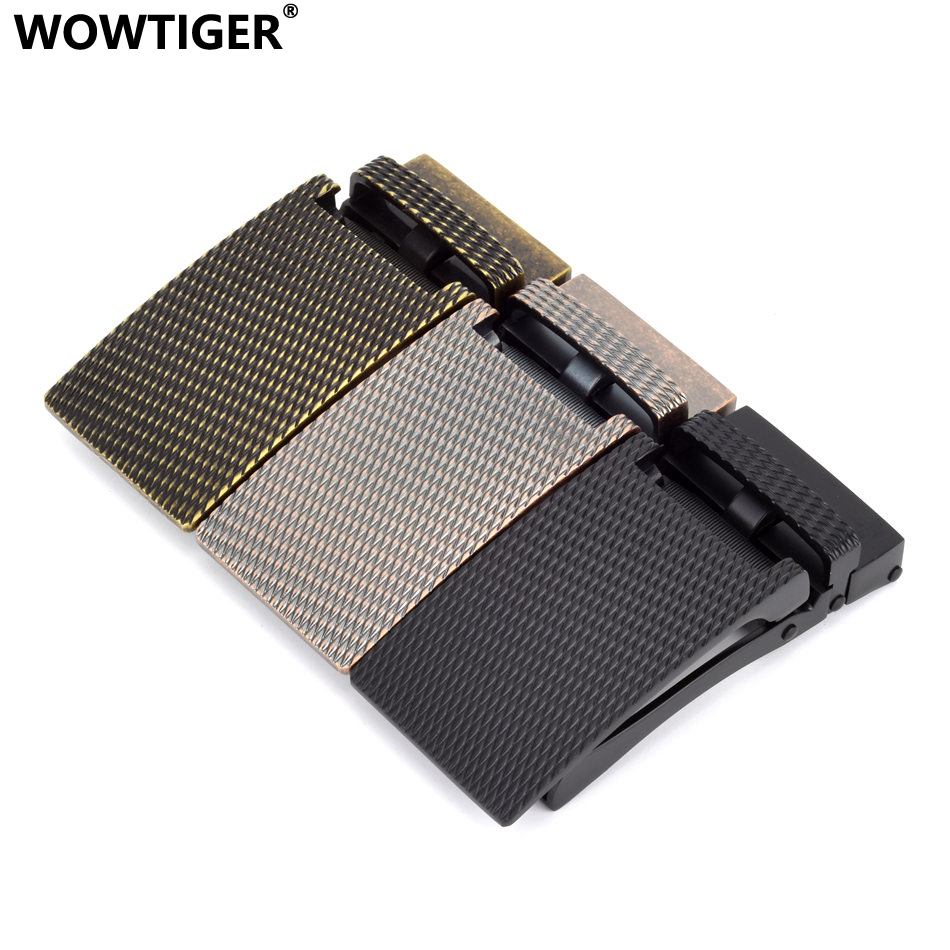 WOWTIGER Mens Automatic Belt Buckles Suitable For 35mm Boucle De Ceinture Ebilla Cinturon Buckle Boucle Ceinture