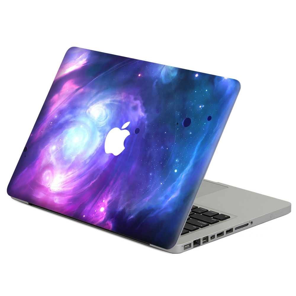 Diy Book Cover For Laptop : Purple star vinyl decal sticker for diy macbook air pro
