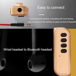 Image 4 - JINSERTA Bluetooth 4.2 Ricevitore 3.5 millimetri Aux Ricevitore Audio Bluetooth Adattatore TF di Sostegno per Altoparlante Senza Fili Della Cuffia a Mani Libere