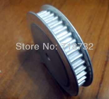 T5 timing belt pulley 50 tooth 15mm width 8mm bore with aluminum