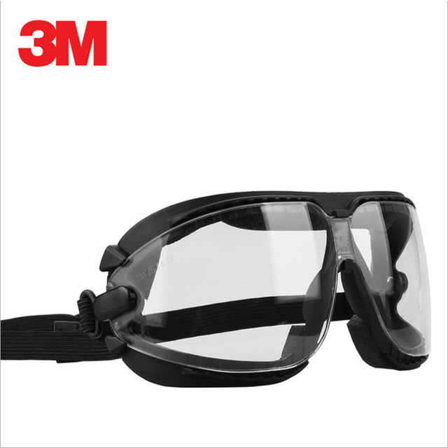 3M 16618 Anti-Fog Anti scratch coating lens and Anti chemical splash Glasses Safety Goggles Economy clear Eye Protection Labor
