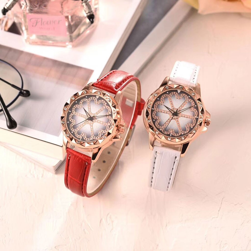 Women Watch Luxury Brand Casual Simple Quartz Clock Women Fashion Leather Band Analog Quartz Round Wrist Watch Watches