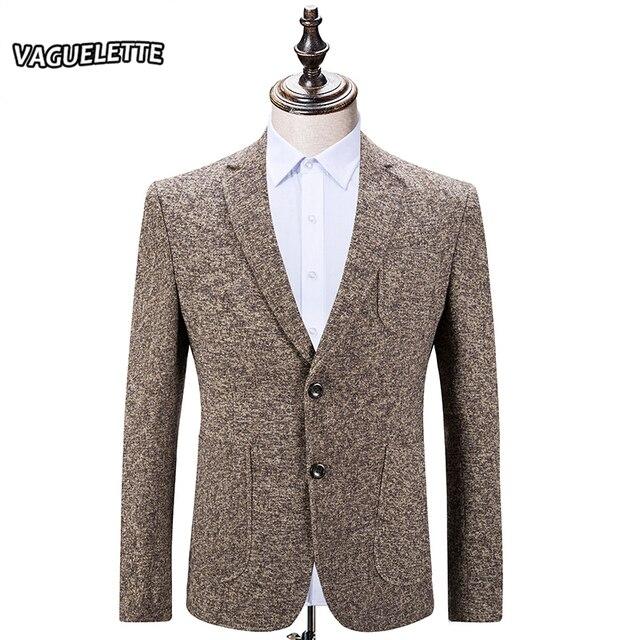 Ropa Hombres Chaqueta Clásico Tweed Invierno de de Camello de Los nUw8qO
