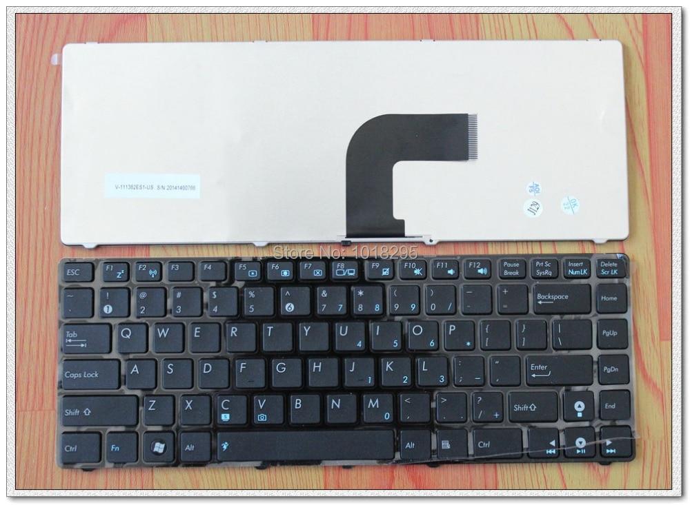 for ASUS K43S K43SA A43S A43SA Series Laptop Keyboard with black frame V111362ES