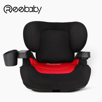 Car child safety seat portable car booster pad ISOFIX hard interface 3 6 12 years old