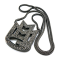 "Free shipping MMG Mayback Music Group Pendant 36"" Various Chain Necklace Hip Hop Iced Out Dancer Rock Rhinestones Big pendant"
