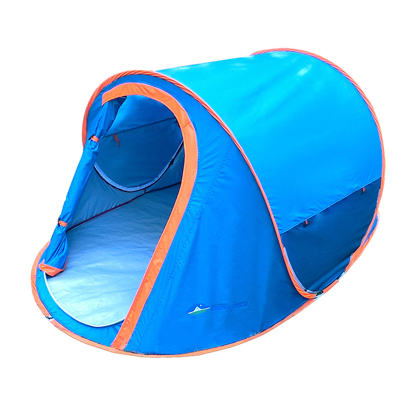 Single C&ing Tent 2 Person Rainproof UV Anti Ultralight Pop Up Beach Tent Quick Automatic Opening Waterproof C&ing Tents-in Tents from Sports ...  sc 1 st  AliExpress.com & Single Camping Tent 2 Person Rainproof UV Anti Ultralight Pop Up ...