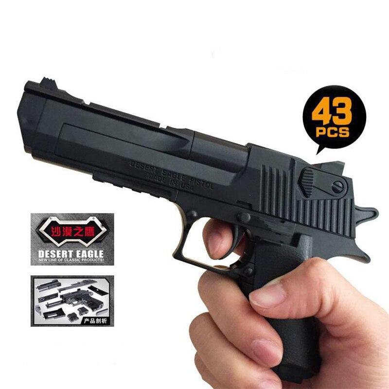 חיצוני כיף ספורט airsoft רובי אוויר ילדי מודיעין של כישוף החדרת הרכבה צעצוע אקדח סימולציה דגם מדבר נשר