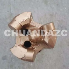 56mm 3 wings whole piece pdc drill bit for sandstone drilling