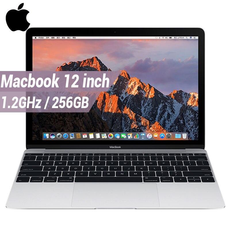 Apple Macbook ноутбука 12 дюймов 256 г SSD 8 г 1,2 ГГц 1866 мГц LPDDR3 MacOS Тетрадь Поддержка Windows intel M3 Процессор MNYF2 двухъядерный