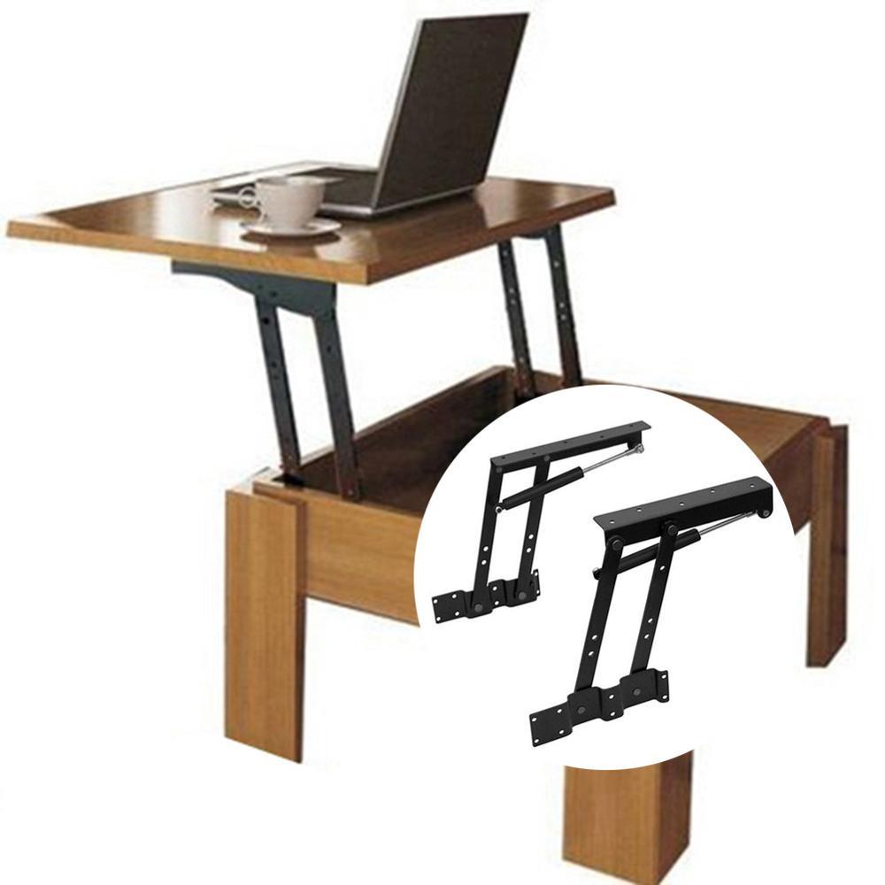Image 2 - 2 шт. шарниры для стола, подъемные верхние журнальные столы, аппаратные мебельные петли для 30 кг подъемного стола и складного шарнира шкафаПетли для шкафа    АлиЭкспресс