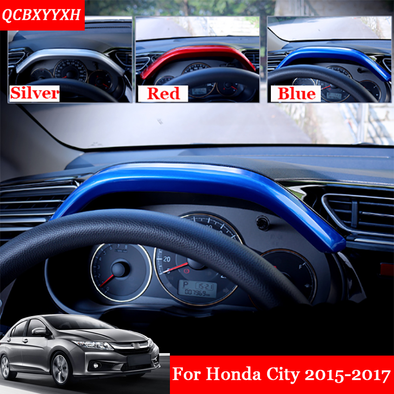 1pcs/set Car Styling ABS Dashboard Decorative Patch Outle Decorative Cover  Sequins Accessories For Honda City 2015 2017 In Interior Mouldings From ...