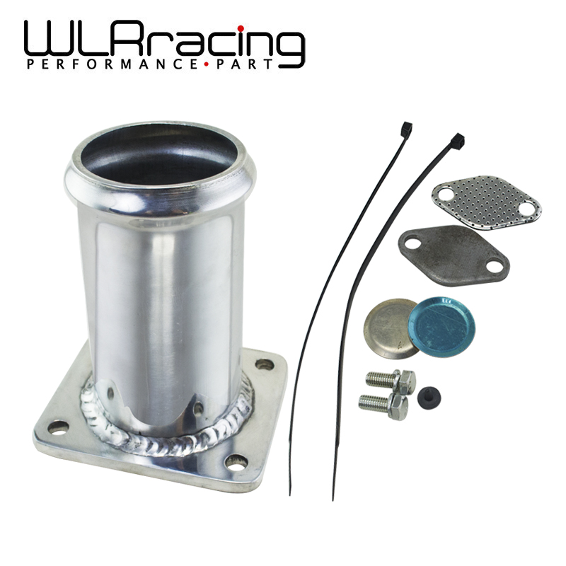WLR RACING - ALUMINUM EGR REMOVAL KIT BLANKING BYPASS FOR BMW E46 318d 320d 330d 330xd 320cd 318td 320td WLR-EGR07