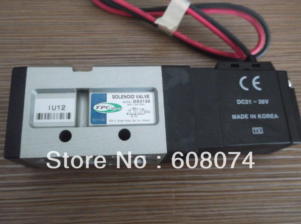 DS3130 5G 02 SOLENOIDE VALVOLA Rc1/4 DC24V DS3130-in Componenti pneumatici da Miglioramento della casa su AliExpress - 11.11_Doppio 11Giorno dei single 1
