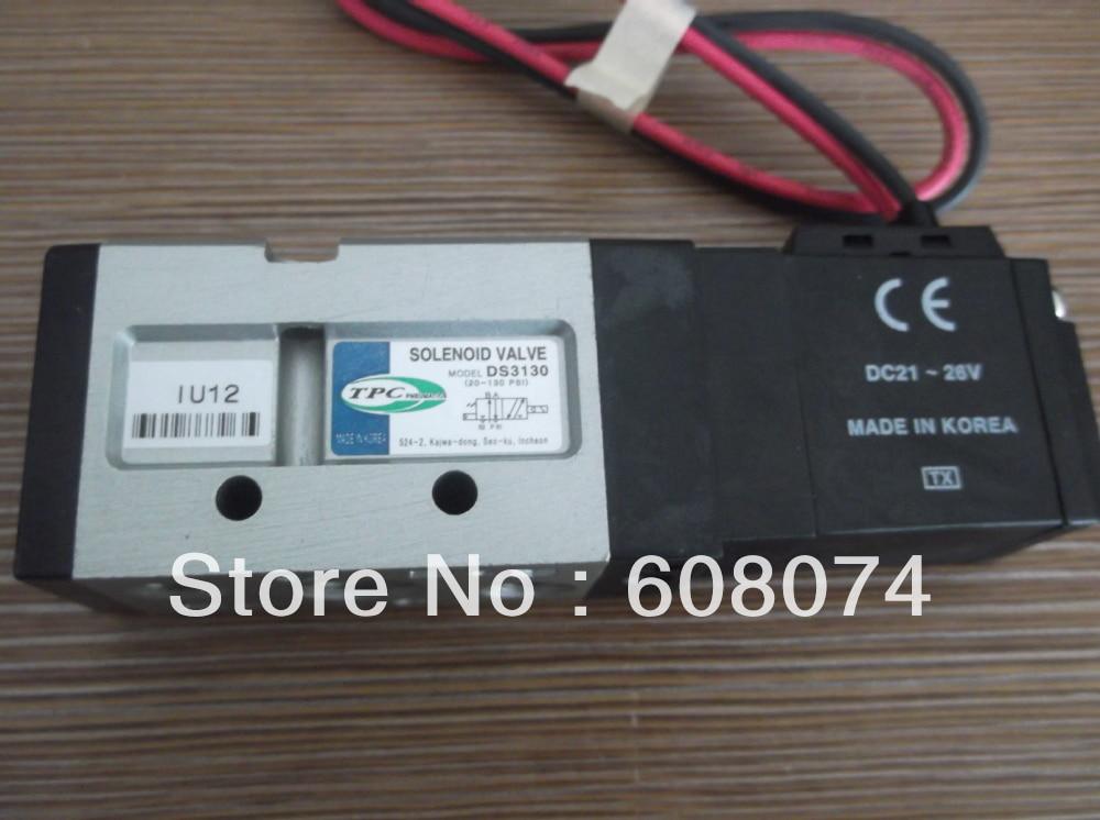 TPC DS3130-5G-02 SOLENOID VALVE Rc1/4 DC24V DS3130 alobon 4 5g